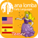 Ana Lomba's Spanish for Kids: Cinderella Teaser (Bilingual Spanish-Eng