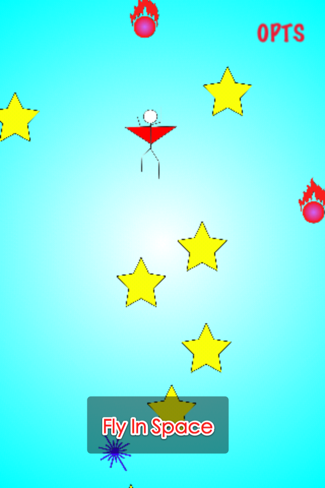 Screenshot Adventure of Stickman: Fly In Space – Action Game