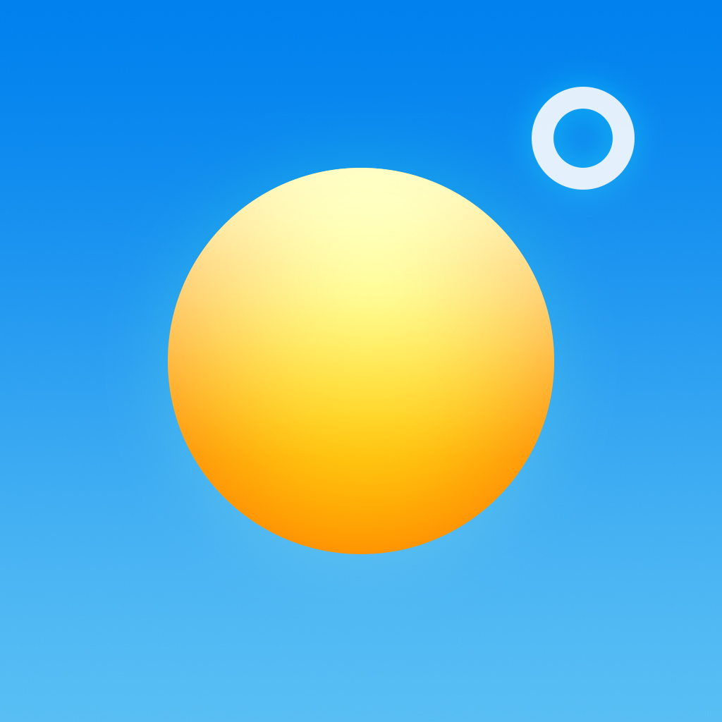 Perfect Weather - NOAA Radar and Forecast by Contrast icon